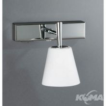 Hydrate wall lamp chrome 1x40W 230V