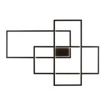 Geometric kinkiet 3x18,3W LED 3000K 230V czarny