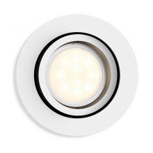 Milliskin Hue oprawa wpuszczana 1x6,5W GU10 230V biała + żarówka LED