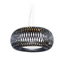 Kalatos lampa wisząca czarna/złota 4x12W E27