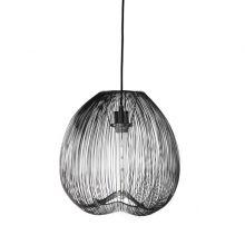 Cage lampa wisząca 1x40W E27 230V czarna