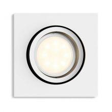 Milliskin Hue oprawa wpuszczana 1x6,5W GU10 230V biała + żarówka LED - bez ściemniacza