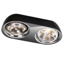 Doloq lampa sufitowa 2x35W G53 12V czarna